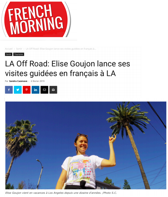 Los Angeles Off Road sur French Morning