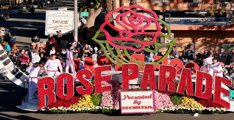 que faire a los angeles en janvier 2020 ? Rose parade Los angeles off road