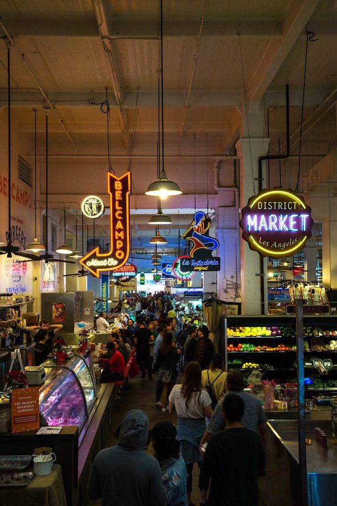 Grand Central Market La La Land